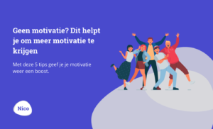Geen motivatie