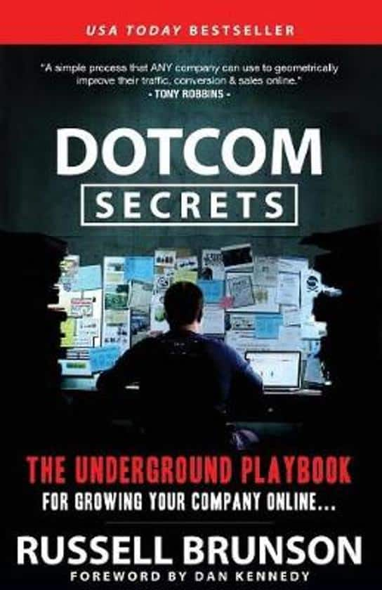 Dotcom secrets online marketing boek