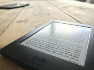 E-reader of tablet