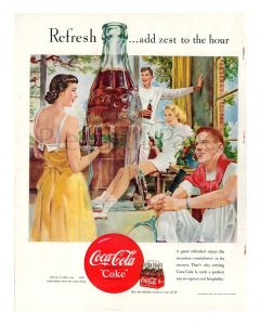 coke call to action ad