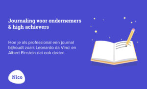 Journaling ondernemers professionals